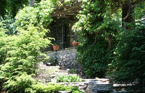 Terrace Stonework,