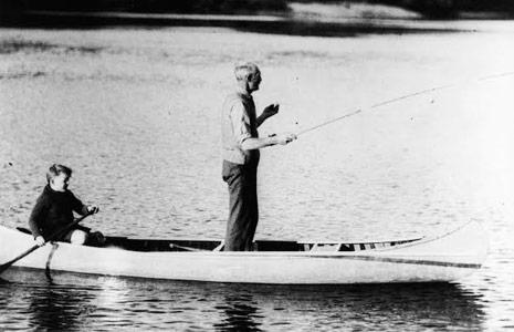 Gifford Pinchot's canoe