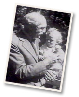 Gifford Pinchot holding ice cream